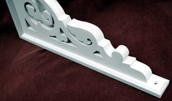 Custom Victorian Porch Bracket framing.   The Victorian Woodshop  http://victorianwoodshop.com